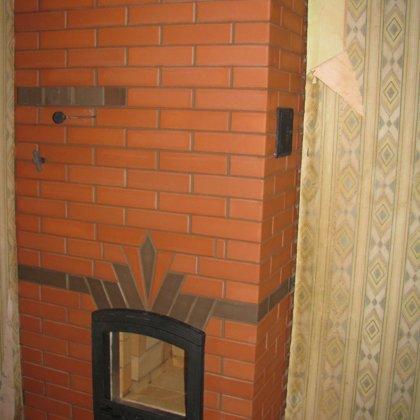 Šildymo krosnis (šildomas plotas +/- 60m2)